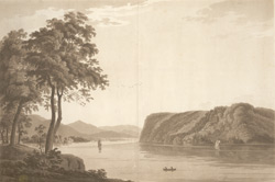View of St Anthony's Nose, on the North River Province of New York
